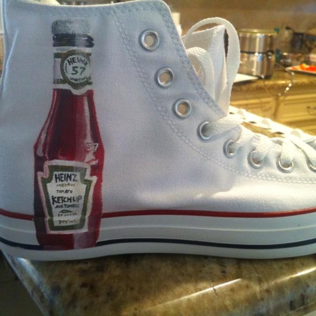 Ketchup shoe for THE ketchup lover.: Ketchup Lovers, Ketchup Shoes