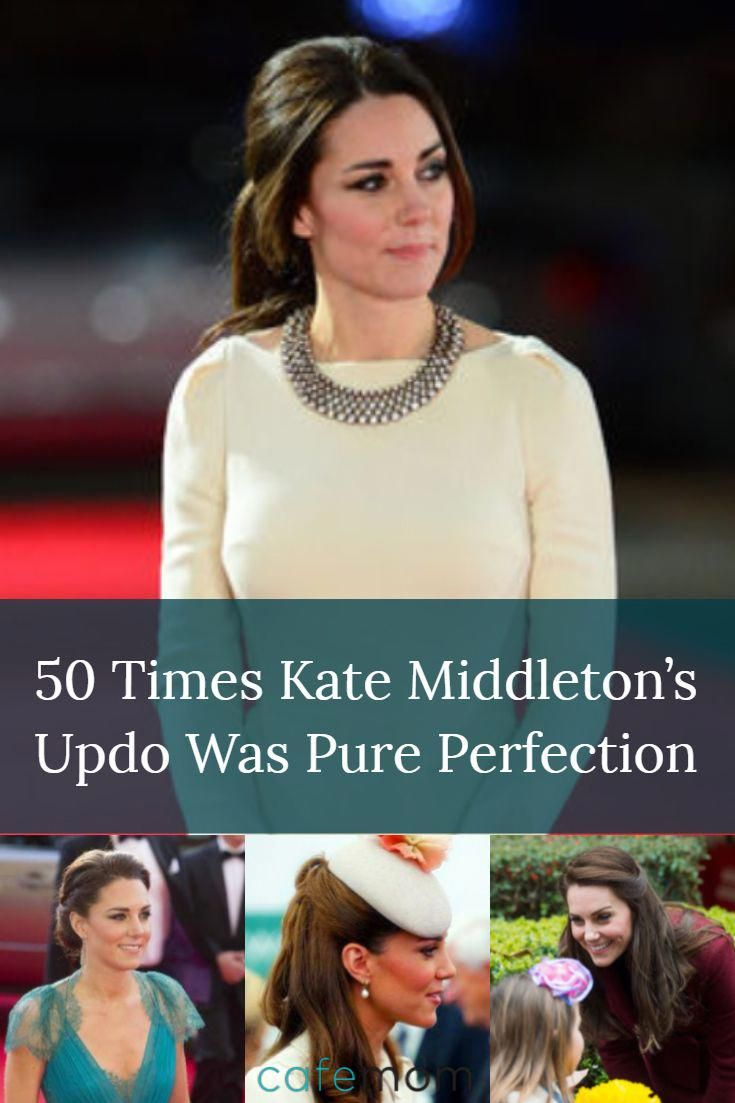 Here are some of kate middletonus best updo hairstyles to copy right