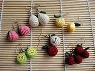 crochet earrings patterns free - Bing Imágenes