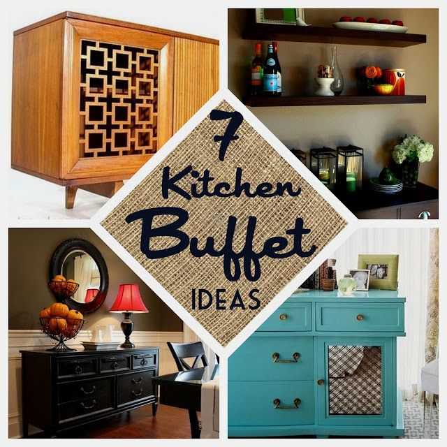 7 Kitchen Buffet Ideas from Nine Red