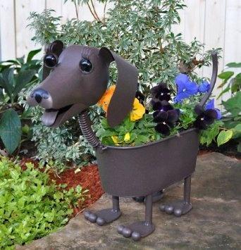 Georgetown Home And Garden Dog Planter