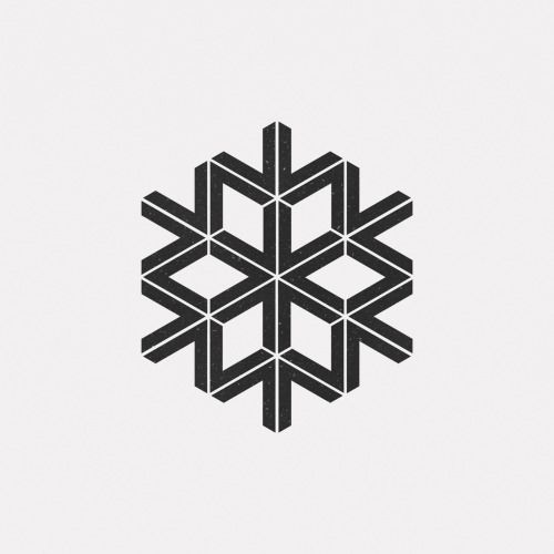 dailyminimal: #FE16-490 A new geometric design every day