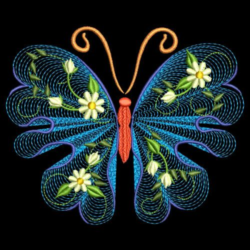 Flutterby luv machine embroidery designs azeb