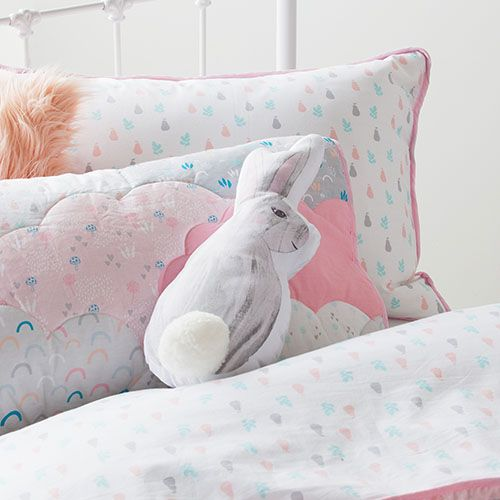 Cloud Winter Harvest Quilted Quilt Cover Set Multi