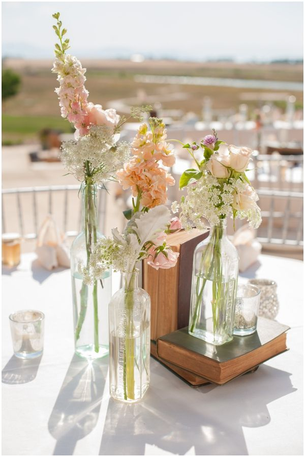 Cream and Peach Floral Decor // Two Buds and a Blossom // Sarah Hays Photography