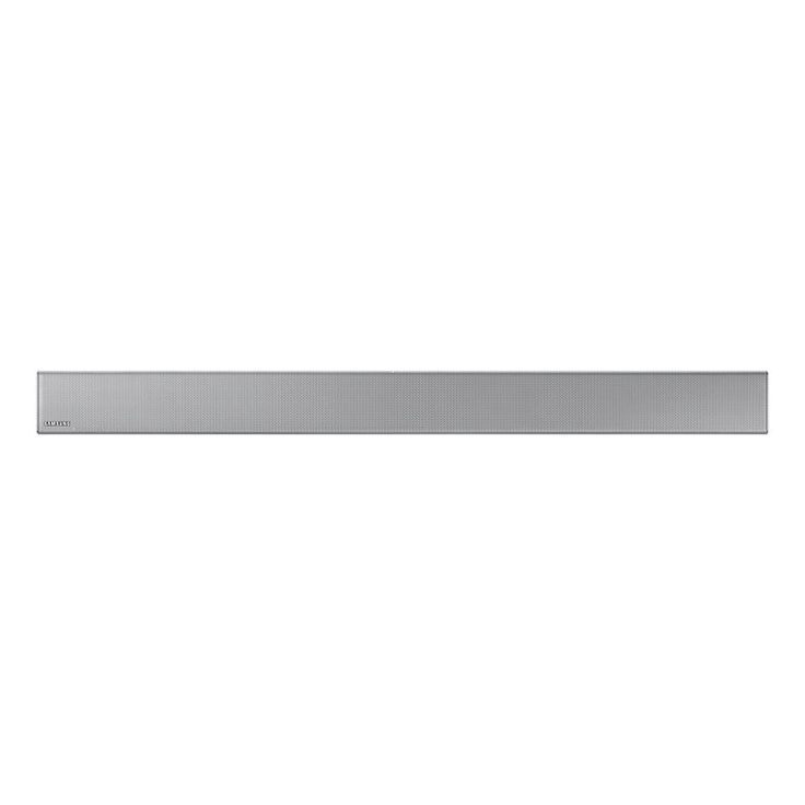Samsung HWK551XU 3.1 Wireless Sound Bar HWK551XU Clearer voices with the center speaker Experience crystal clear dialogue with a dedicated center speaker on the Soundbar. It provides balanced sound from one end of the bar to the other and angles the http://www.MightGet.com/february-2017-1/samsung-hwk551xu-3-1-wireless-sound-bar-hwk551xu.asp