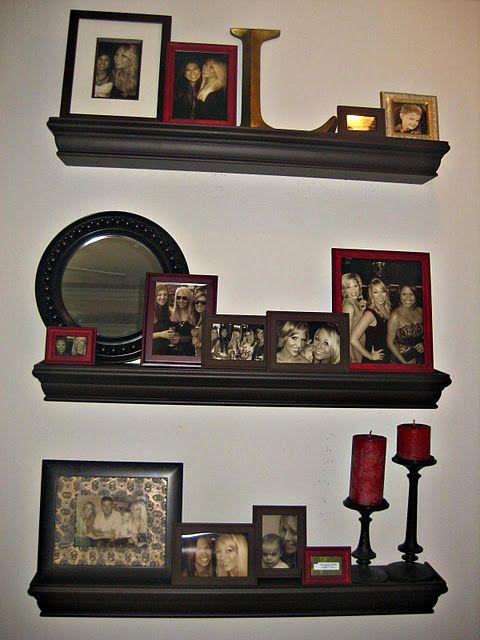 best 25 black floating shelves ideas on pinterest. Black Bedroom Furniture Sets. Home Design Ideas
