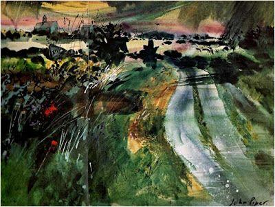 """John Piper: """"Caerhedwyn Uchaf"""", 1981"""