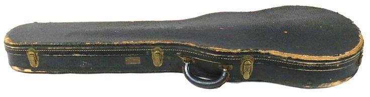 G.E. Smith's 1960 Gibson Les Paul Custom Black Beauty Case