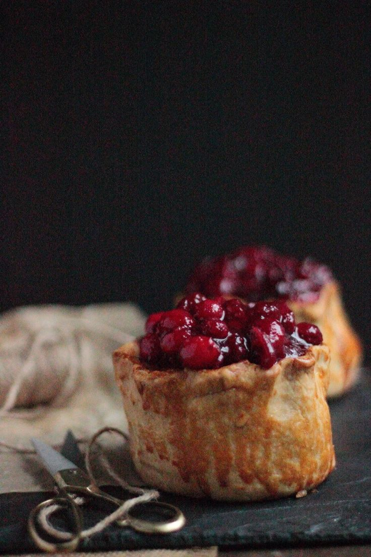 Hand raised Game and cranberry pie