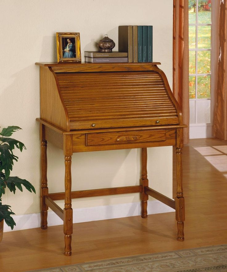 traditional style secretary desk - 736×883