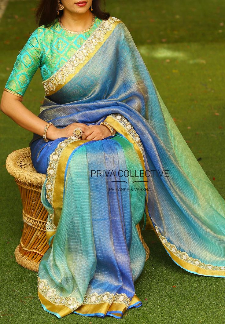 PV 3493 : Blue shaded  Price       : 4900Rs Show up in this elegant number this ... 10