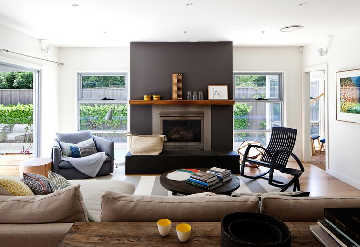 Love seeing our Large Jute Basket in Natural in this beautiful space! ------------------------- We renovated this home working with the existing joinery and spaces, but added layers of texture and colour, making a few critical changes to the interior and created a comfortable outdoor area. Hare + Klein Design Team: Meryl Hare + Eloise Fotheringham Photographer: Luc Remond BEFORE