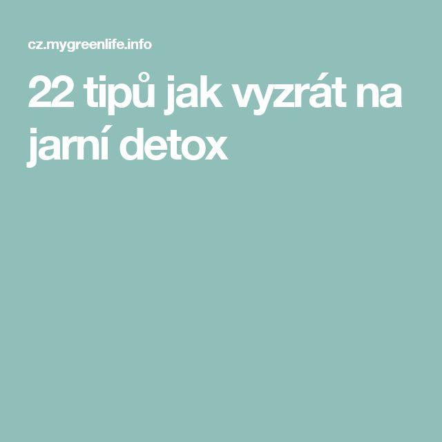 22 tipů jak vyzrát na jarní detox