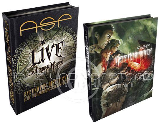 Produktabbildung Subskriptions-Bundle – ASP … LIVE auf rauen Pfaden 4CD-Box + GeistErfahrer Limited