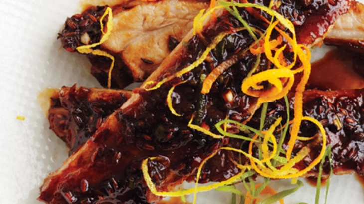 Orange and Soy-Glazed Baby Back Ribs | Recipes to try | Pinterest