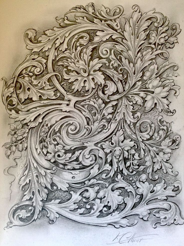 Ken Hunt scrollwork (12th Nov 2015)