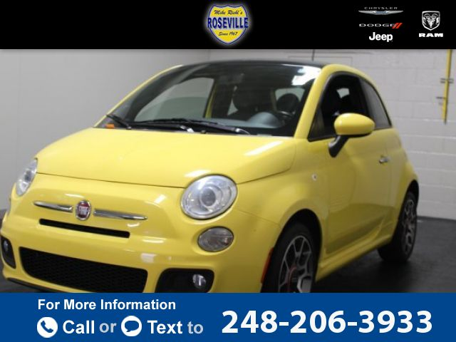 2012 *Fiat*  *500* *Sport*  57k miles Call for Price 57300 miles 248-206-3933 Transmission: Automatic  #Fiat #500 #used #cars #RosevilleChryslerDodgeJeepRamUsed #Roseville #MI #tapcars