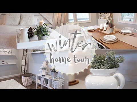 Christmas Home Tours 2019 Youtube WINTER HOME TOUR 2019 | COZY + RUSTIC FARMHOUSE DECOR   YouTube