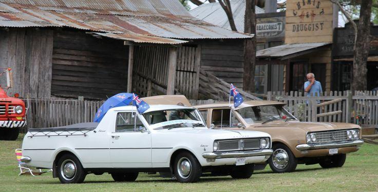 Australia Day at The Australiana Pioneer Village #Vintage #cars #history #Holden #AusDayAPV