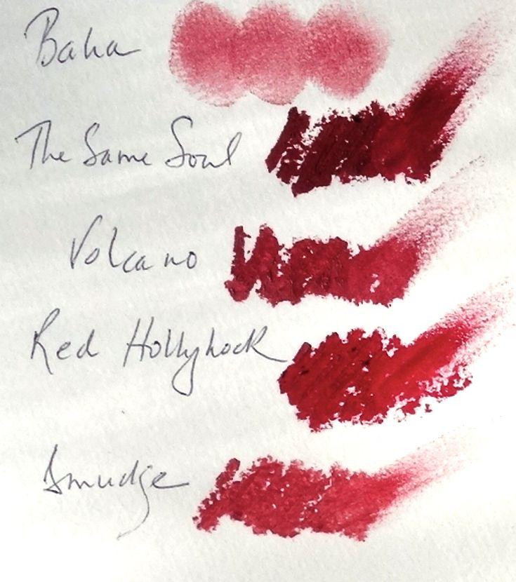 Dark Autumn Lipstick and Blush