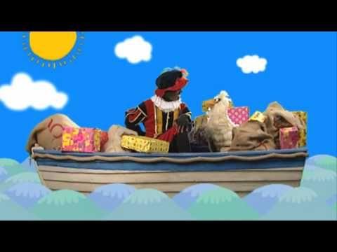 Sinterklaasliedje 'Zie ginds komt de stoomboot'