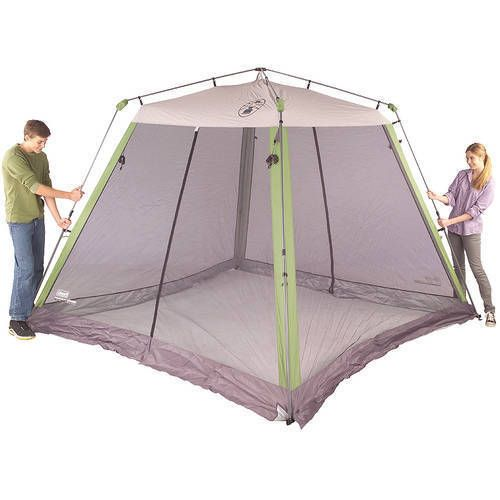 Beach Canopy Screen Instant Tent House Shelter Sun Protection Outdoor 10'x10'  #Coleman