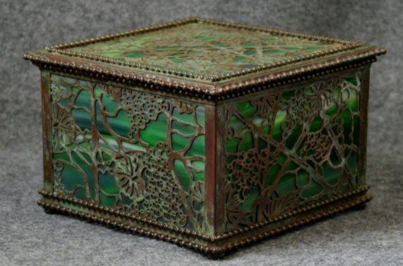Zentrum Studios  Tiffany Style Jewelry Box by ZentrumStudios, $650.00