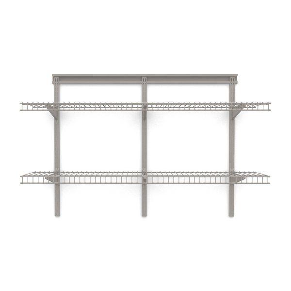 30 H X 48 Shelving Unit Closetmaid Metal Floating Shelves Wall Shelves