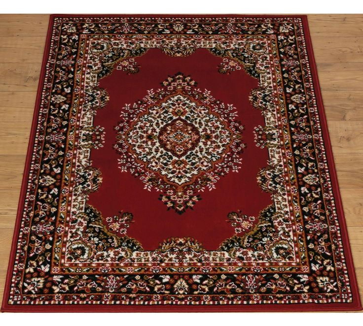 buy home bukhura traditional rug 160x120cm red at argoscouk