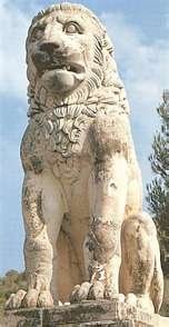 The Lion of Chaeronea, Greece. I will see this beautiful sculpture again.