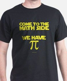 Dark Side of Math Pi T-Shirt for