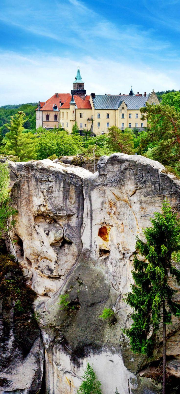 Hruba Skala Castle, Bohemian Paradise region, Czech Republic | 22 Reasons why Czech Republic must be in the Top of your Bucket List