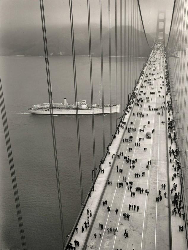 Opening of the Golden Gate Bridge - 1937