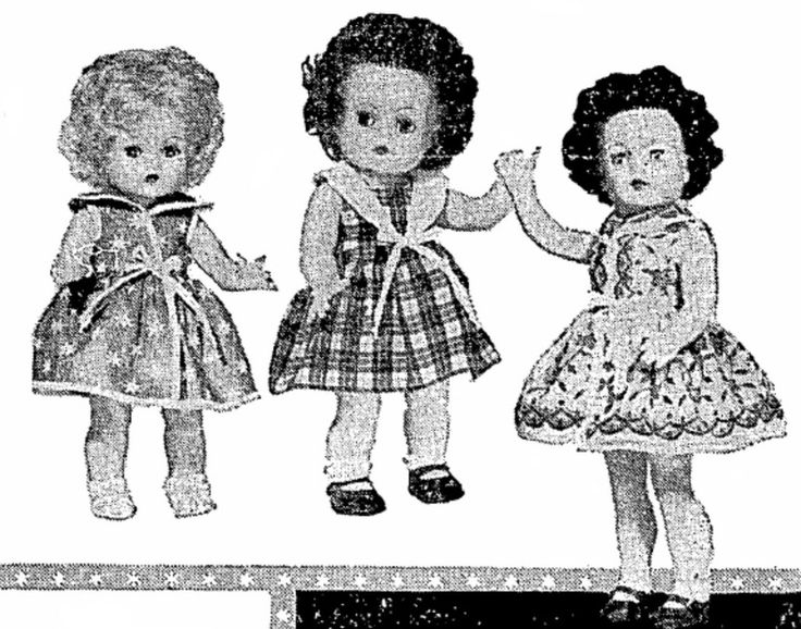 Crolly Dolls in a 1960 newspaper article