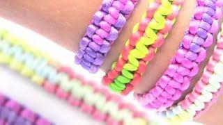 pulseras con cinta de cordon - YouTube