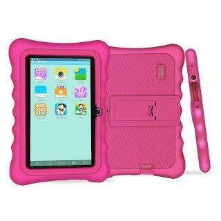 """""""Features & Benefits"""" YUNTAB Q88H Kids Edition Tablet, 7"""" Display, 8 GB, WiFi, Bluetooth, Kids Software Pre-Installed, Premium Parent Control , Educational Game Apps (PINK)"""
