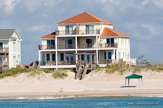 19 Best Luxury Oceanfront Topsail Island Vacation Rentals