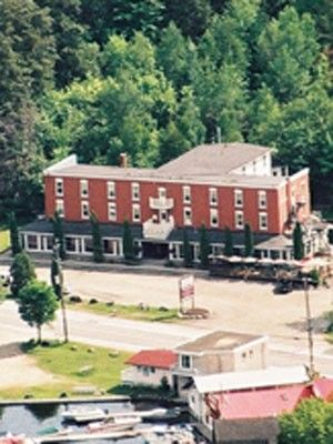 Bala Bay Inn, Ontario, Canada  -haunted by founder E.B. Sutton who died here in 1916 and is still seen looking out the top-floor windows  -Room 319 has activity including the TV turning on & off and changing channels on its own