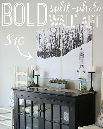 Turn Your Photos Into Wall Art — For Less Than $10!: House by Hoff blogger April Hoff shows us how to create beautiful, personal wall art via Hometalk. Check out April's affordable DIY inspiration below!