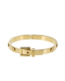 Michael Kors Tassel Bangle  65.00 (Looks like a knock off of the crazy expensive Cartier bracelet that I love!)