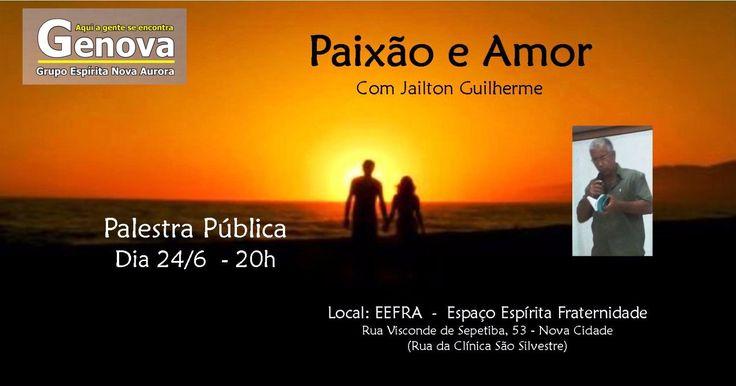 GENOVA - Grupo Espírita Nova Aurora Convida para a sua Palestra Pública - São Gonçalo - RJ - http://www.agendaespiritabrasil.com.br/2016/06/24/genova-grupo-espirita-nova-aurora-convida-para-sua-palestra-publica-sao-goncalo-rj/