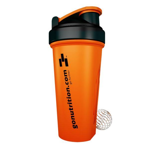 GN™ Blender Bottle 600 - GoNutrition - Benefícios Chave - Batidos Perfeitos: suaves e sem grumos. - A tampa sela totalmente evitando derrames. - Fácil de limpar. - Design Ergonômico.