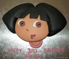 Inspiration for a Dora Cake and Cupcakes , Novelty Cakes. www.sweetsecretsdubai.com