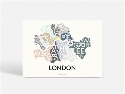 Beautiful London! Kortkartellet just loves this silhuet! Remember: Home is where the map is! ;)