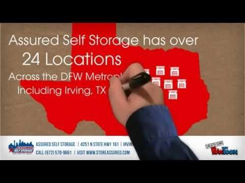 The Assured Self Storage Irving Self Storage Facility Provides Secure  Residential And Commercial Storage Units