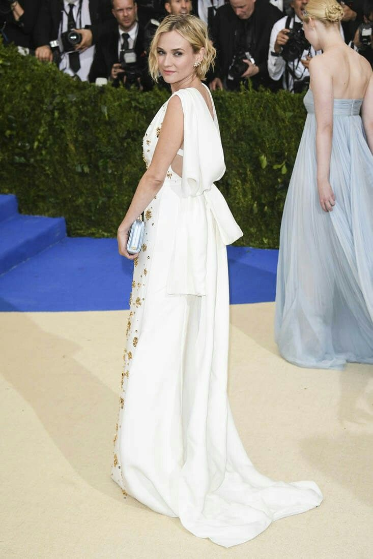 Diane Kruger in Prada - 2017 Met Gala.  (1 May 2017)