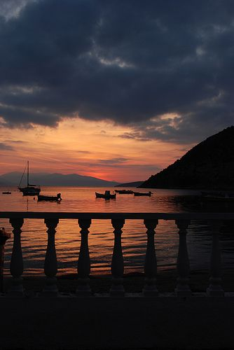 Greek Sunrise - Tolo, Greece by Janicskovsky, via Flickr