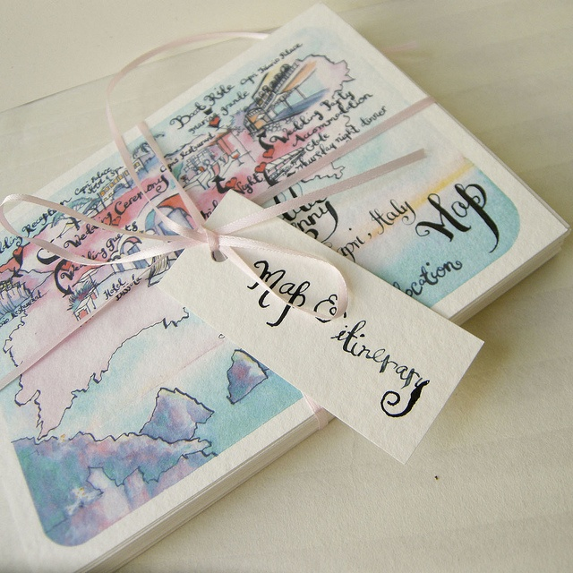#invite #cards #white #blue #capri #italy #mediterraneanwedding #destinationwedding