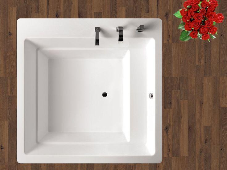 1000 id es sur le th me baignoire carr e sur pinterest for Decormag salle de bain
